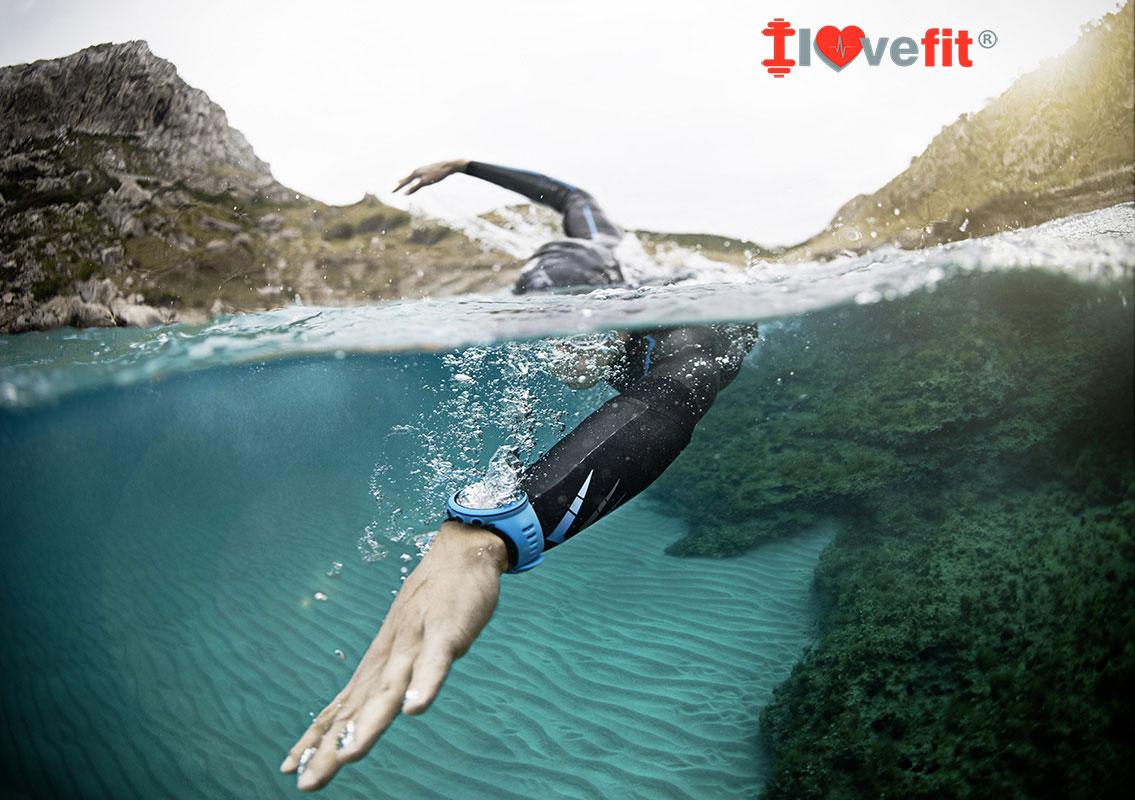 Suunto Ambit 3 bajo el agua